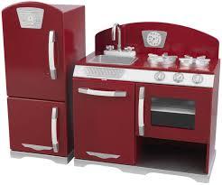 Retro Red Kitchen 2 Piece Kidkraft Retro Kitchen Kidkraft 2 Piece Retro Kitchen