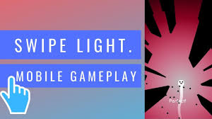 Swipe Light Swipe Light This Game Developed By 17 And 18 Years Old Guys Ios Android Mobile Gameplay