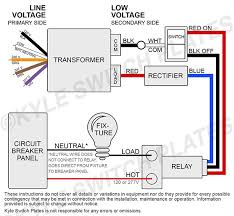 kyle switch plates how to replace a low voltage ge switch & relay GE Rr9 Relay Wiring Diagram at Ge Rr7 Relay Wiring Diagram