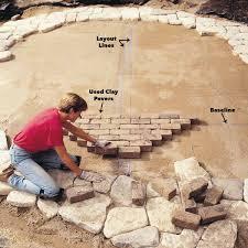 lay bricks along layout lines