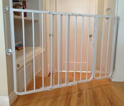 babyproofing company baby safe homes shows the gate with an extension set up at an angle there is no other way to install a gate in this location