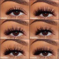 eyerís beauty false eye lashes liberty cleopatra athena empress fealess