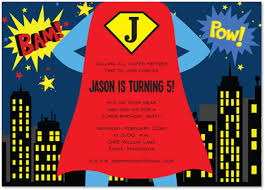 superheroes birthday party invitations superhero standing by birthday party invitations stationery invite