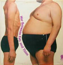 Image result for fat guy and skinny guy