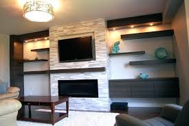 idea tv above fireplace where to put cable box and put cable box hanging above fireplace over without studs 49 tv above gas fireplace where to put cable box