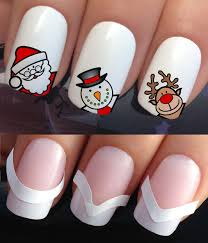 CHRISTMAS NAIL ART SET STICKERS DECALS WATER TRANSFERS. PLUS x48 ...