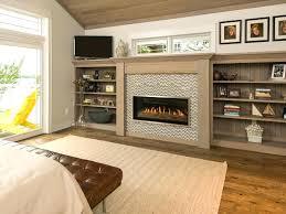 gas fireplace 3 sided superior peninsula 3 sided firebox