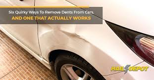 paintless dent repair dry ice six quirky ways to remove dents from cars and one that paintless dent repair