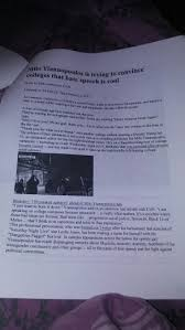 write an argumentative essay on each of the articl com write an argumentative essay on each of the article trump s anti democratic war on facts and speech by bridgette dunlap