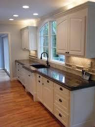 Kitchen Backsplash White Cabinets Brown Countertop Tropic Granite Countertops Cabinetswhite Inside Design