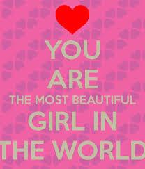 You most beautiful woman
