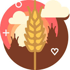 Wheat Rye Ranching Field Farm Bakery Icon Free Of Free Skycons