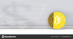 Aa Stock Chart Bitcoin New Virtual Money With Chart Stock Editorial Photo