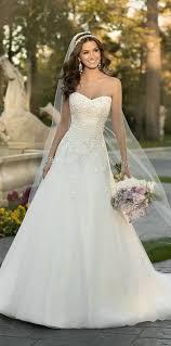 best 25 aline wedding dresses ideas