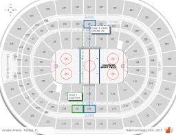 Tampa Bay Lightning Amalie Arena Seating Chart