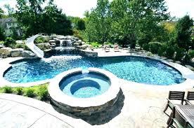 pool designs with slides. Modren Designs Backyard Pool Slide Swimming Ideas For  Hillside   Throughout Pool Designs With Slides L