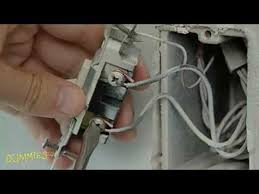 how to replace a standard switch with a dimmer switch for dummies
