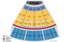 Nokia Center Seating Chart Theater Seat Numbers Online Charts Collection