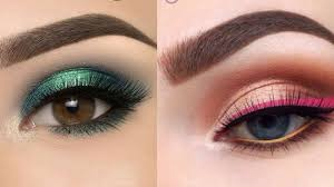 beginners eyeshadow tutorial for hooded eyes cute eye makeup eyeliner ideas pilation