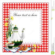 tea party clipart holiday tea 6