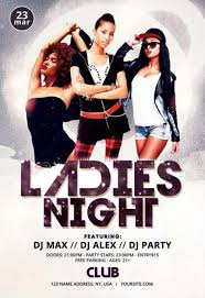 Club Flyers Address Ladies Night Out Free Psd Flyer Template For Ladies Only