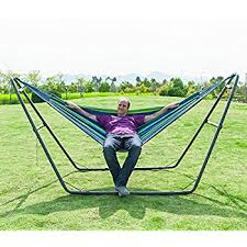 steel hammock stand.  Hammock OnCloud Universal MultiUse Adjustable HeavyDuty Steel Hammock Stand 2  Person In Stand S