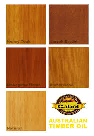 Cabot S Timber Colour Chart Cabot Stains Australian Timber Oil Famous For Bringing