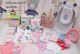 Trọn gói sơ sinh cao cấp ( gói đầy đủ 35 món) - Annie shop