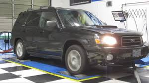 285 WHP/317 FT/LBS- 2004 Subaru Forester XT- COBB Tuning Surgeline ...