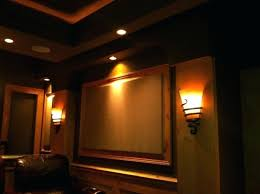 wall sconce lighting ideas. Theater Wall Sconces Home Theatre Lighting Ideas In Prepare . Sconce O