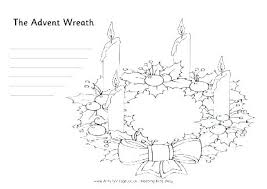 Advent Wreath Coloring Pages Printable Advent Coloring Pages Advent