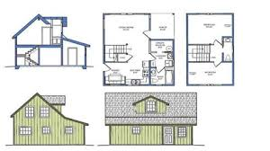 small house plans with loft. Delighful Loft Small House Plans With Loft Cabin Plan Throughout T