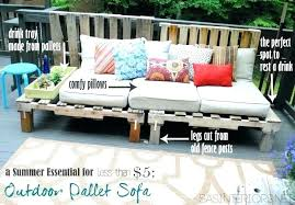 diy pallet couch cushions pallet furniture cushions photo 1 of 7 a summer essential for the diy pallet couch cushions