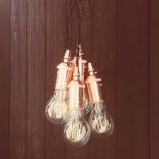 Mini Light Bulb Socket Multi Socket Pendant Light Cord Kit Edison Vintage Style