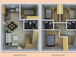 storey single detached house plan   Interior Concepts     storey single detached house plan