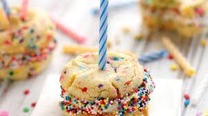 Birthday Cake Cookies Recipe Bettycrockercom