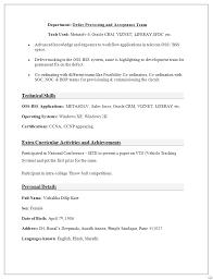 Ccnp Resume Sample For Freshers Resume For Network Engineer Sample