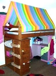 Bunk Bed Tent Canopy Rainbow Bed Canopy Tent Child Bed Bunk Bed Tent ...
