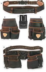custom leather tool belt. good leather tool pouches are increasingly hard to find. these bags made from heavy full-grain treated with a blend of oils and waxes resist custom belt