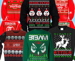 Heavy Metal Ugly Christmas Sweaters Have Officially Jumped The ...