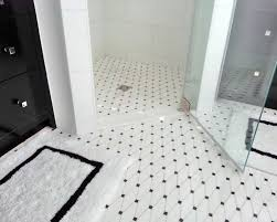 Impressive Black And White Ceramic Tile Floor With Small Square Pattern Patternswhite Patternstile For Design