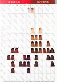 Colour Touch Colour Chart Wella Color Touch In 2019 Hair Color Color Hair