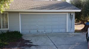 vista garage door installation before