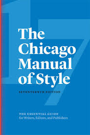 Chicago Style Citation 17th Notes Bibliography And Author Date