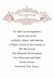 Wedding Reception Program Templates Wedding Reception Program Template Gildenlow