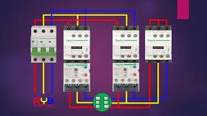 star delta starter power circuit wiring diagram star delta connection