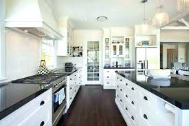 kitchen with black countertops this gorgeous contemporary kitchen utilizes dark granite counter tops and wood flooring