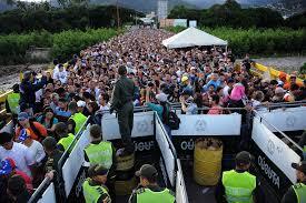 Resultado de imagen para frontera cerrada con colombia y crisis venezuela