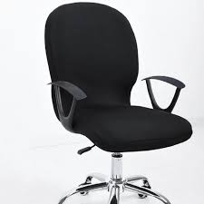 computer chair slipcover. Modren Slipcover Elastic Office Chair Covers Seat For Computer Chairs Stretch  Rotating Cover Desk Intended Slipcover L