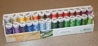Mettler 28 Spool Polysheen Holiday Thread Set Ps10 Holiday